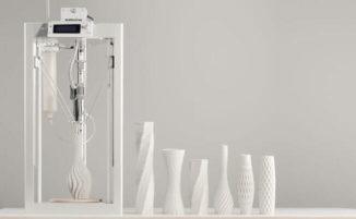 Questa economica stampante 3D crea ceramiche facilmente e in poco tempo