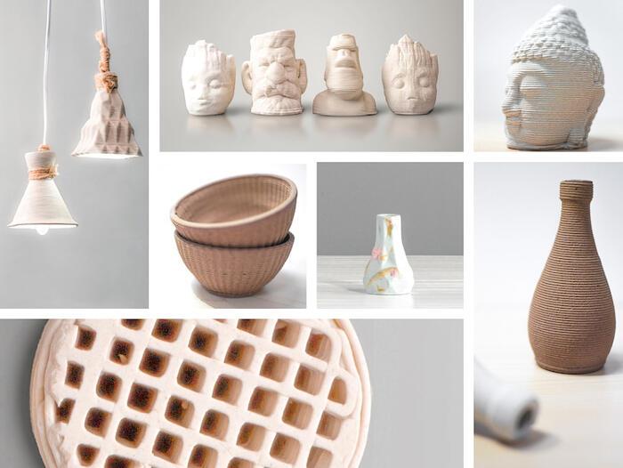 Stampante 3D ceramica Cerambot