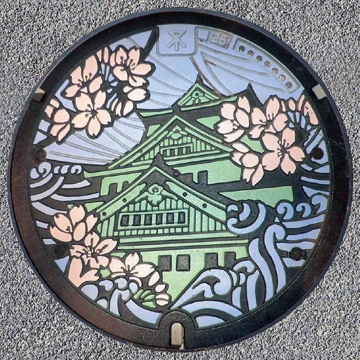 I bellissimi tombini giapponesi