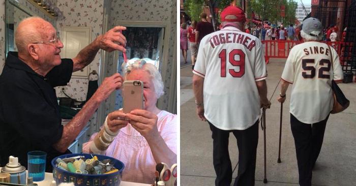 29 coppie di anziani dimostrano che l'amore non ha età