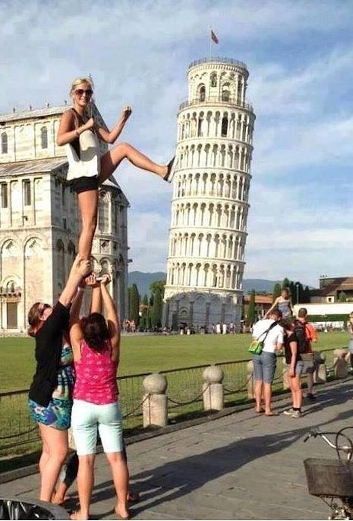Foto Torre Di Pisa Creative