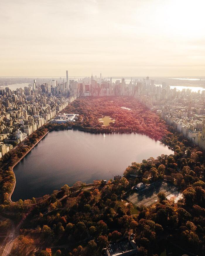 Foto Aeree New York Drone Humza Deas
