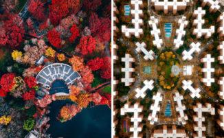 Fotografo mostra come New York vista dall'alto sia ancora più sorprendente