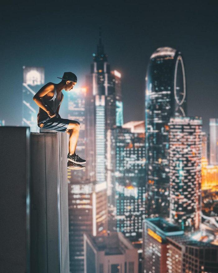 Straordinari paesaggi urbani in Cina fotografati da Hym Chu
