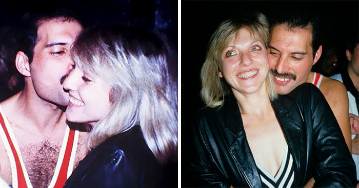 25 foto di Freddie Mercury con il primo e unico vero amore della sua vita, Mary Austin