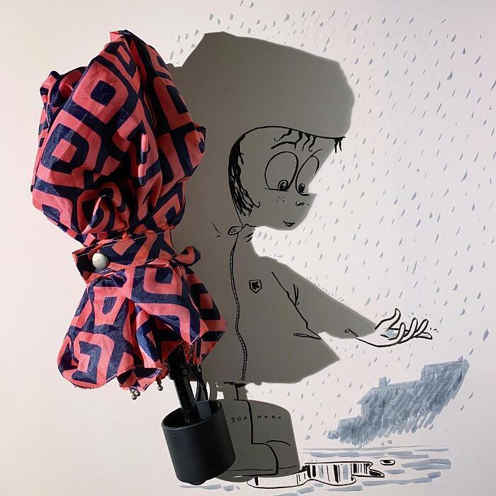 Illustrazioni Divertenti Ombre Vincent Bal