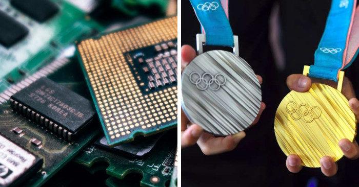 Le Olimpiadi di Tokyo 2020 premieranno i vincitori con medaglie fatte di rifiuti riciclati