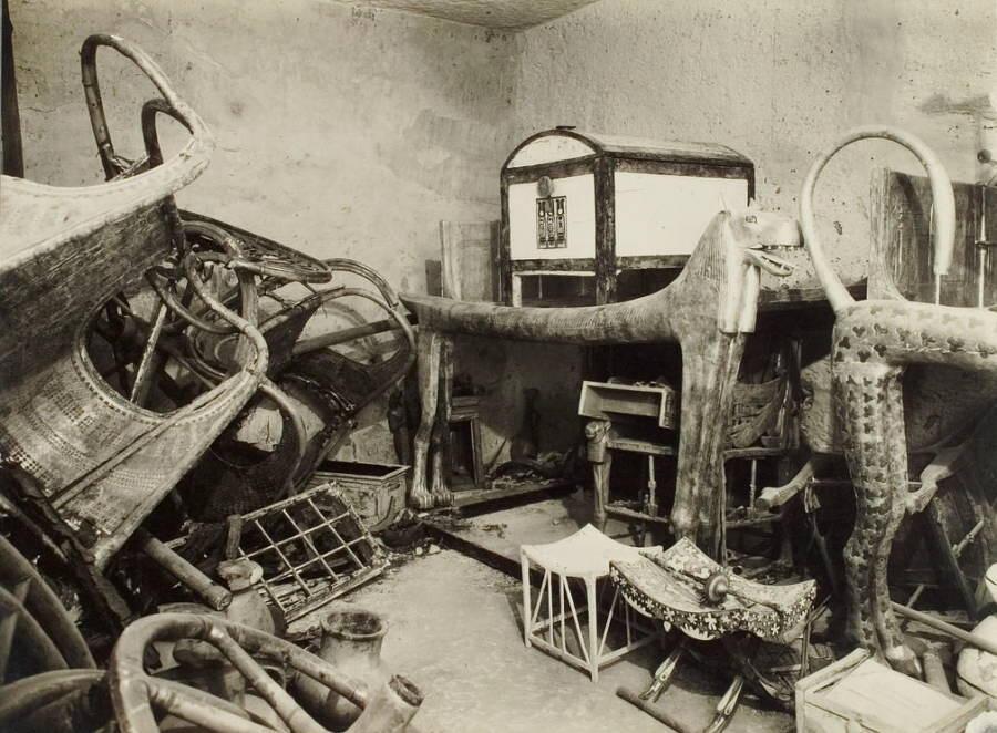 Nuove foto della tomba di Re Tutankhamon dopo il restauro