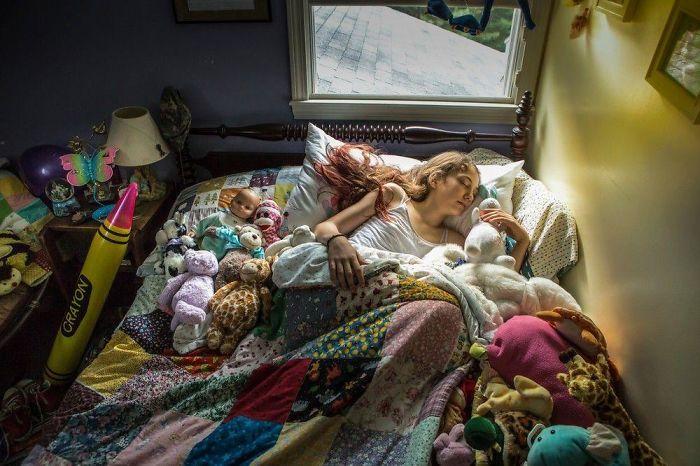 Foto Ritratti Americani Nelle Loro Camere Da Letto Barbara Peacock