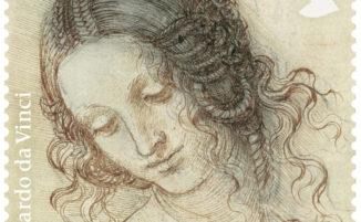 Nel Regno Unito esce una serie di francobolli dedicati ai disegni di Leonardo da Vinci