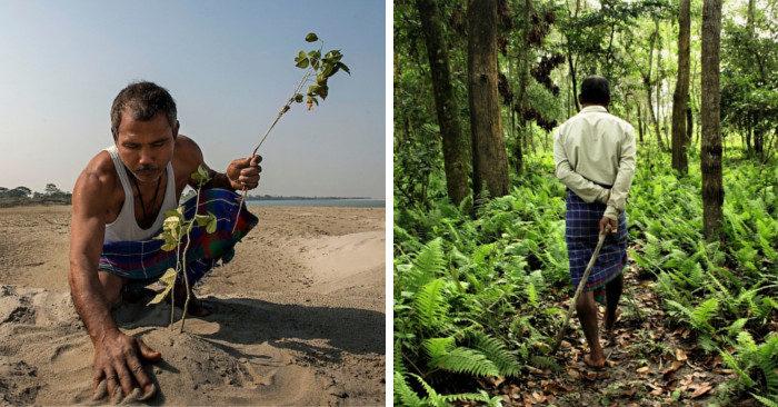 Trascorre 40 anni a trasformare un deserto in una foresta e prova che c'è speranza per il nostro pianeta