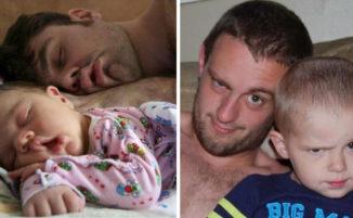 """Tale padre, tale figlio: 96 adorabili foto di papà con i loro """"mini me"""""""