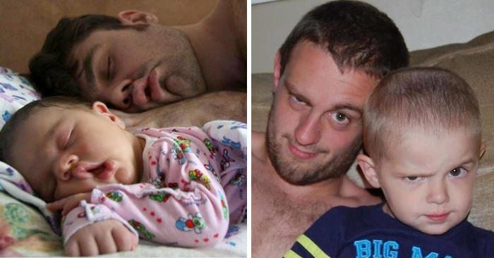 Tale padre, tale figlio: 96 adorabili foto di papà con i loro