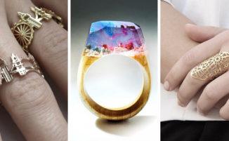 10 anelli originali per portare un po' di creatività sulle dita