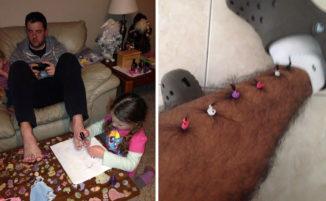 50 papà resi più carini dalle loro figlie piccole