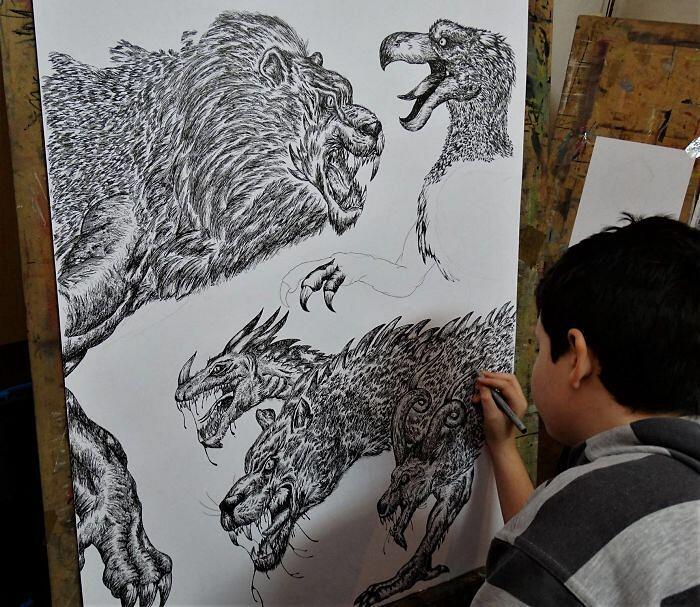 Disegni Animali Natura Dušan Krtolica