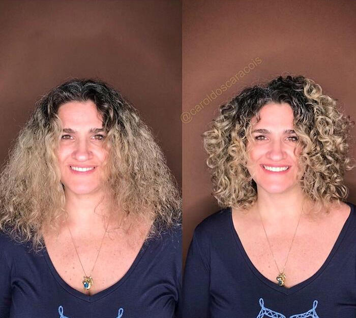 Donne Capelli Ricci