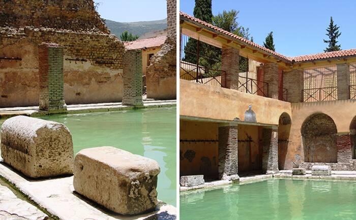Terme romane di Hammam Essalihine a Khenchela, Algeria