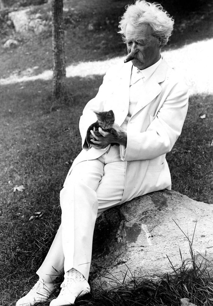 Foto Mark Twain Gatti