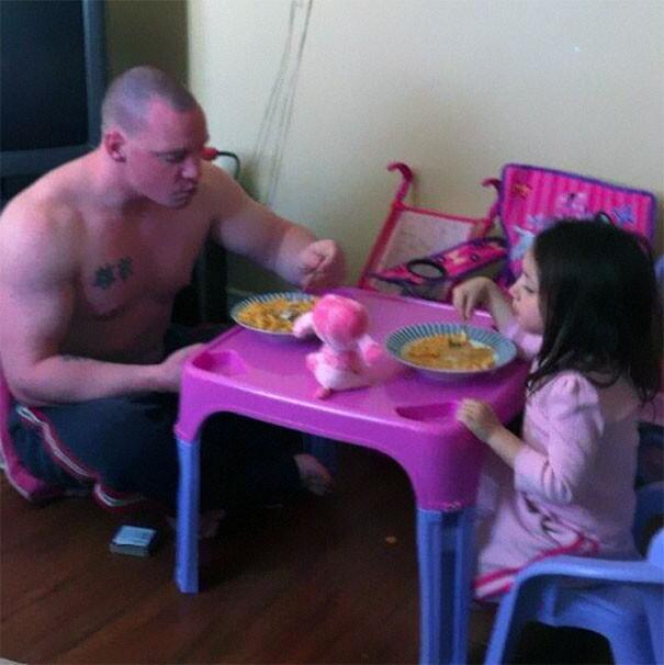 Foto Divertenti Padre e Figli