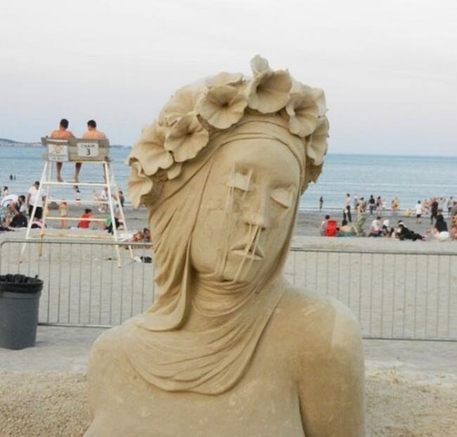 Sculture Di Sabbia