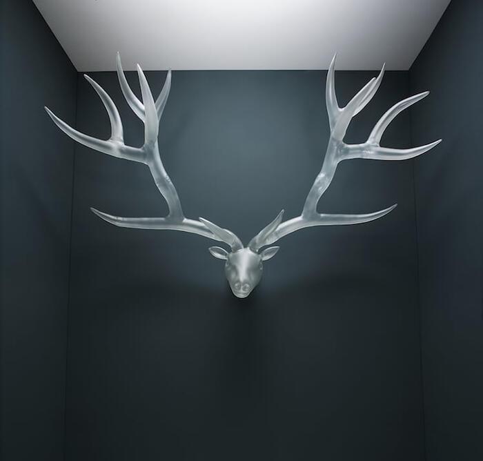 Sculture in vetro soffiato di Simone Crestani