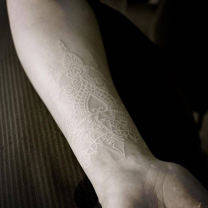 Tatuaggi bianchi