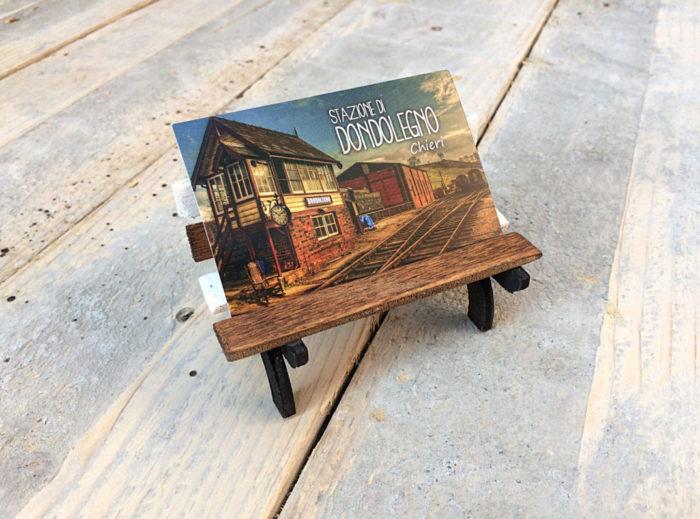 Artigianato legno Stazione Di Dondolegno
