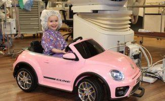 In questo ospedale i bambini vanno in sala chirurgica a bordo di mini car giocattolo