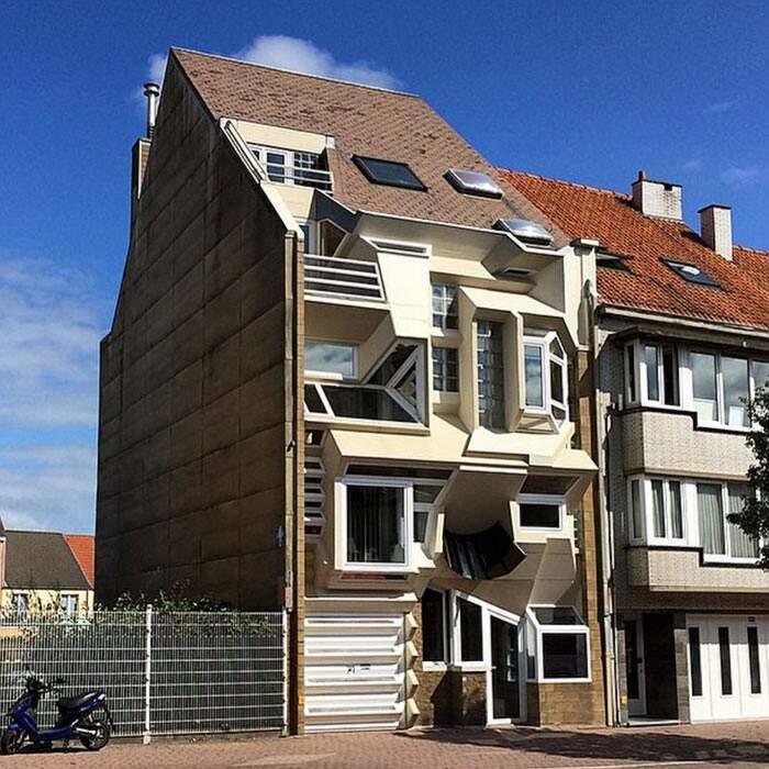 Un blogger raccoglie foto delle case in Belgio così bizzarre da essere divertenti