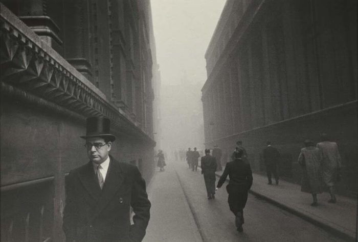 Straordinarie foto in bianco e nero di Londra nei primi anni '50