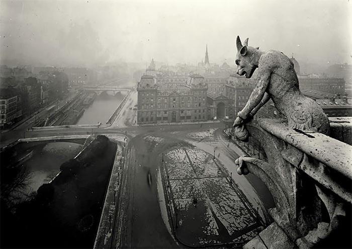 Parigi nel primo novecento fotografata da Jean Pierre Yves-Petit