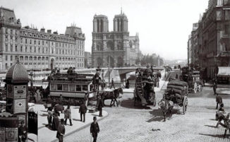 20 fotografie rare di Notre Dame scattate nel 1800