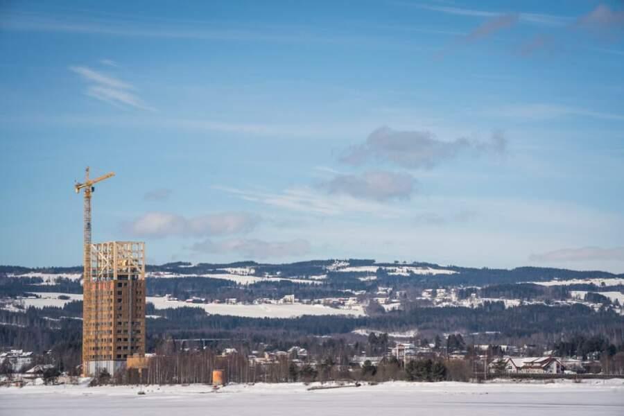 Mjösa Tower, l'edificio in legno più alto del mondo è in Norvegia