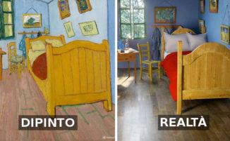 Interni di dipinti famosi diventano reali