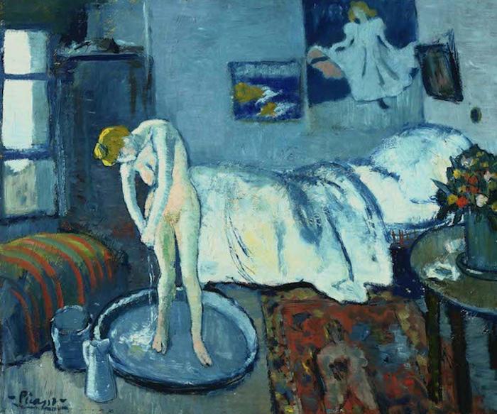Il dipinto nascosto in una famosa opera di Picasso
