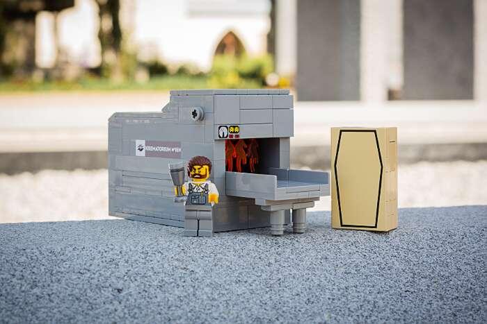 Il cimitero di Vienna offre LEGO di funerali