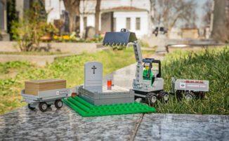 Il cimitero di Vienna offre LEGO di funerali per introdurre i bambini al concetto della morte
