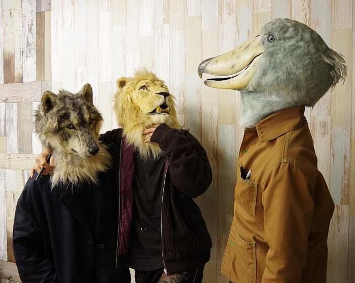Artista giapponese crea teste di animali incredibilmente realistiche che puoi indossare