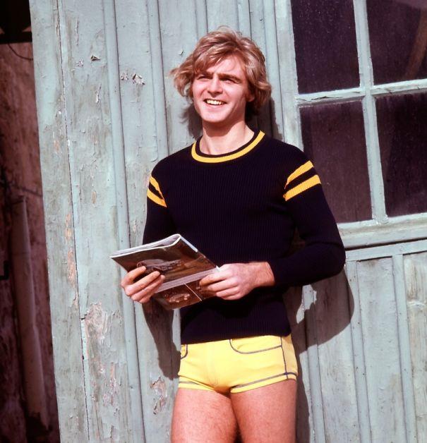 Moda Uomo Pantaloncini Anni '70