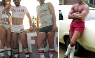 Quando gli uomini indossavano i pantaloncini, la moda negli anni '70