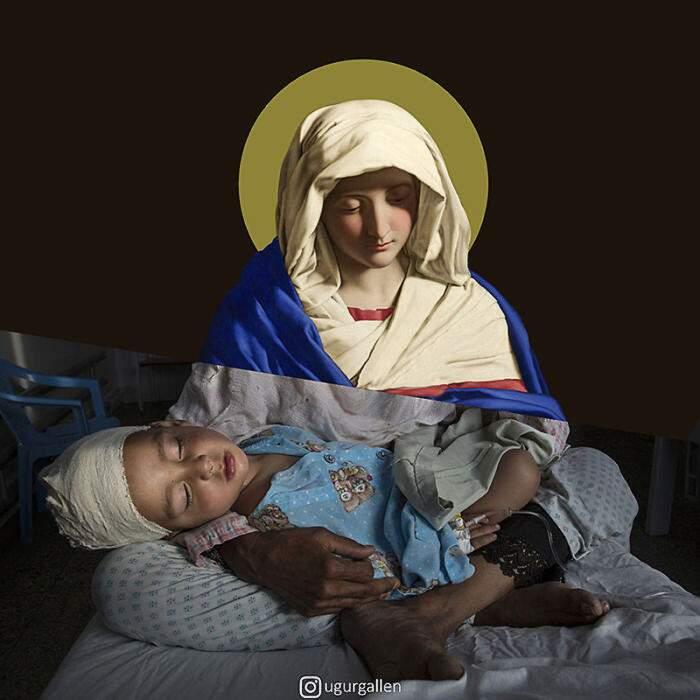 Benessere e tragedie nei fotomontaggi di Uğur Gallenkuş