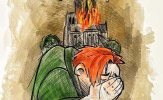 Artisti da tutto il mondo rendono omaggio alla cattedrale di Notre-Dame a Parigi dopo il devastante incendio