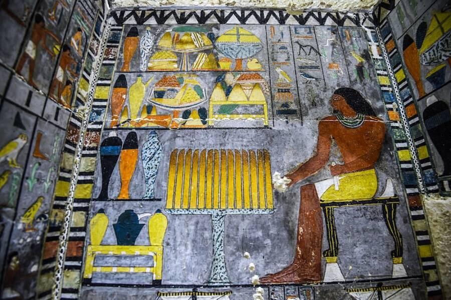 Scoperta Tomba Khuwy Antico Egitto Saqqara