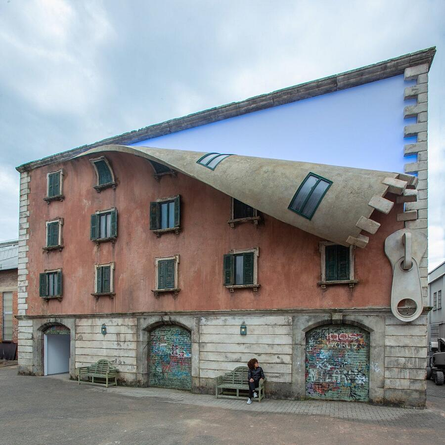 Street Art Milano Alex Chinneck