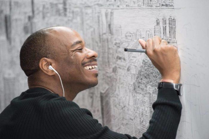 Artista autistico disegna accuratamente intere città a memoria, Stephen Wiltshire -