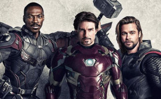 Artista immagina il film Avengers con un cast anni '90