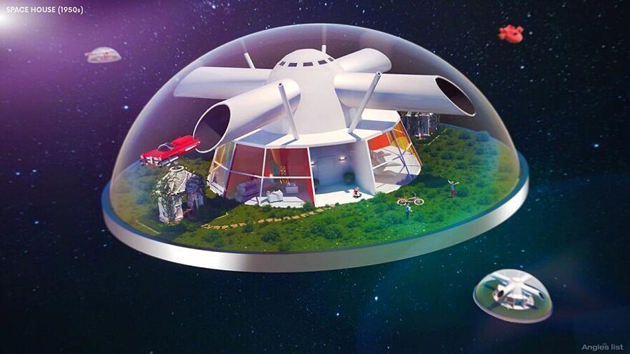 Case Del Futuro Immaginate nel 900