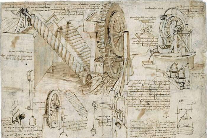 Codice Atlantico di Leonardo Da Vinci disponibile online