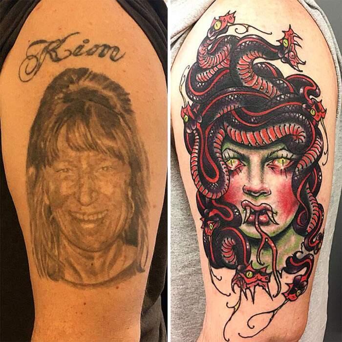 Coprire tatuaggio ex